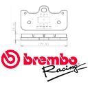 Bremsbeläge Brembo racing Z04 für Brembo Bremszangen P4 32/36 CNC