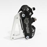 Moto Master 4 Kolben Bremszange inkl Adapter